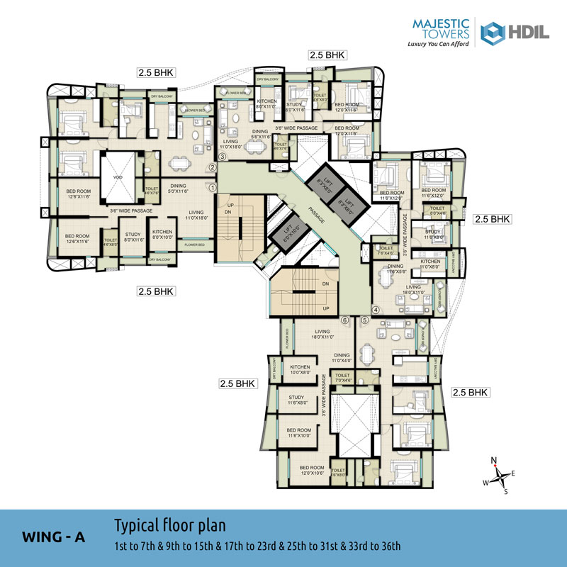 Majestic tower hdil for City house plans